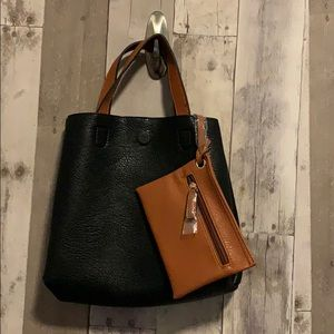 Urban Outfitter Honey/Miel Reversible Bag NEW